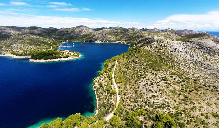 Skrivena Luka, island Lastovo, Croatia