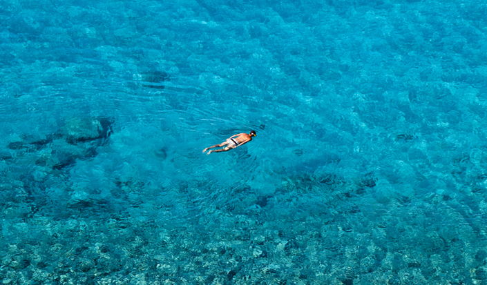Snorkeling can be your ticket to discovering the underwater side of Croatian coast