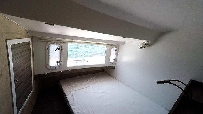 Trimaran-sailing yacht-Neel 45-cabin