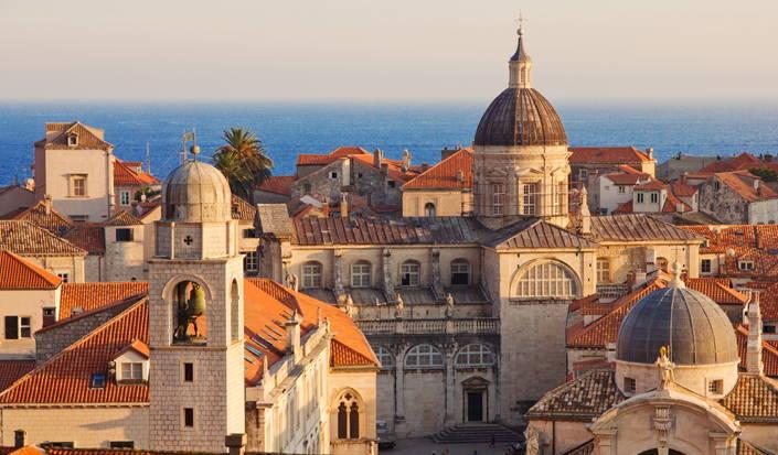 Predivni stari grad Dubrovnik