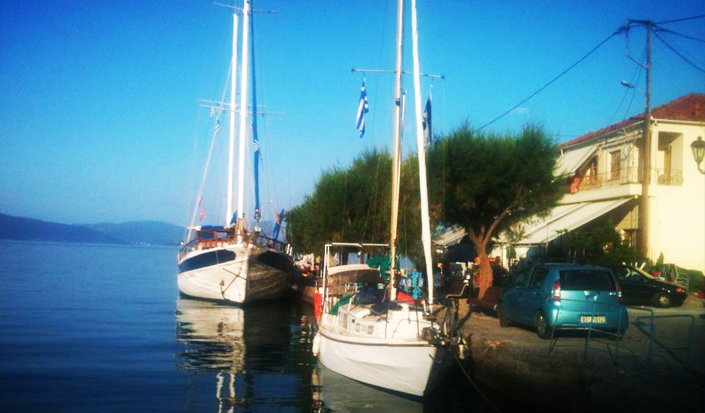 Sailing and diving in Greece - great combination!