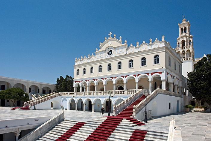 Tinos - Kirche
