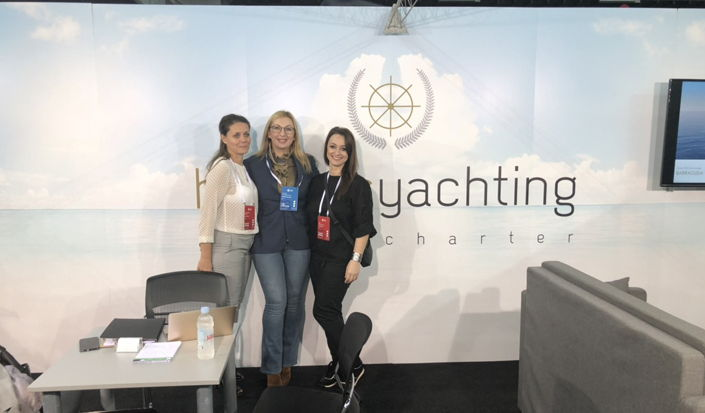 International Charter Expo 2018 - mit unseren Partnern Hermes Yachting