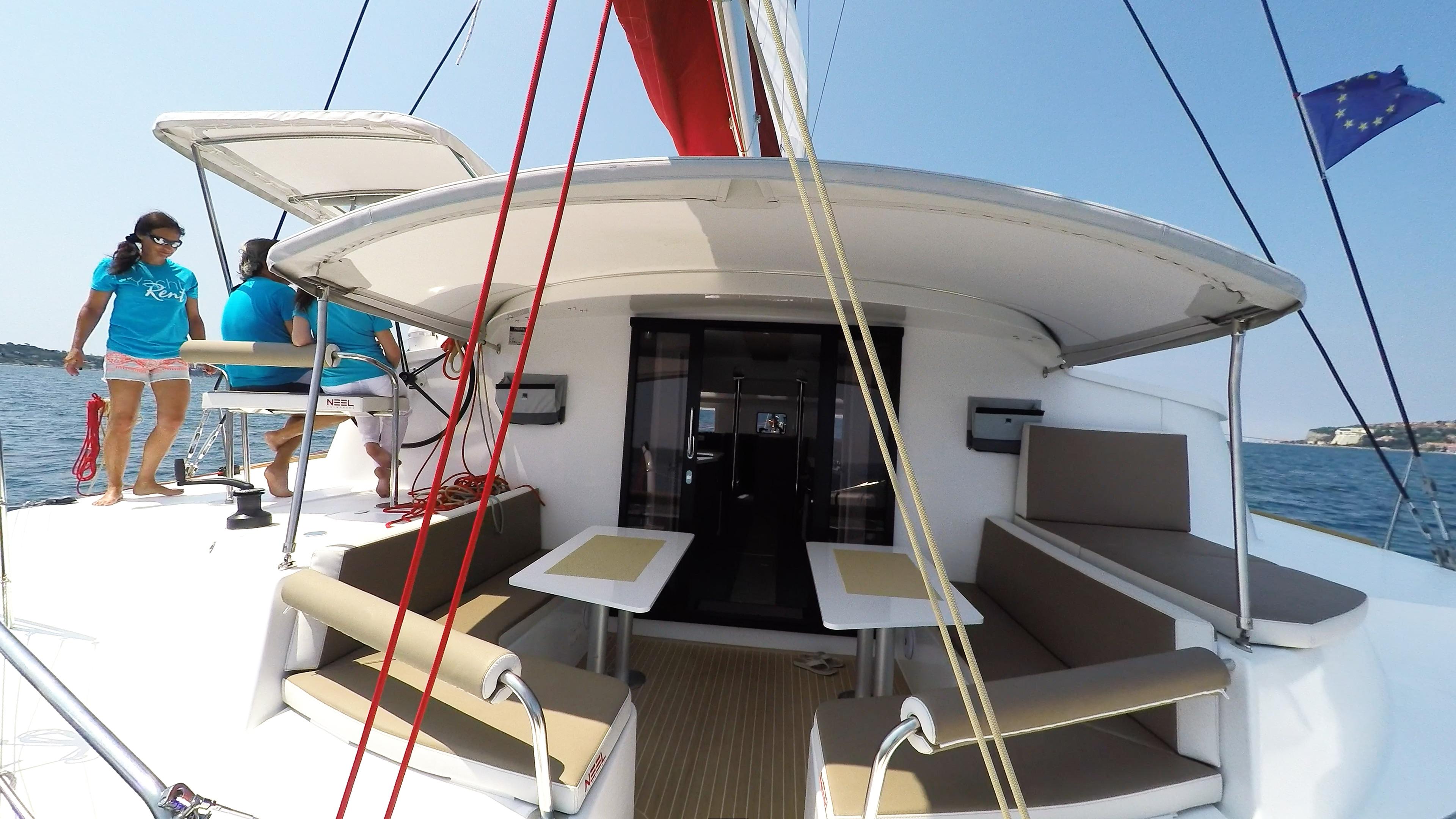stern cockpit trimaran yacht neel 45 1