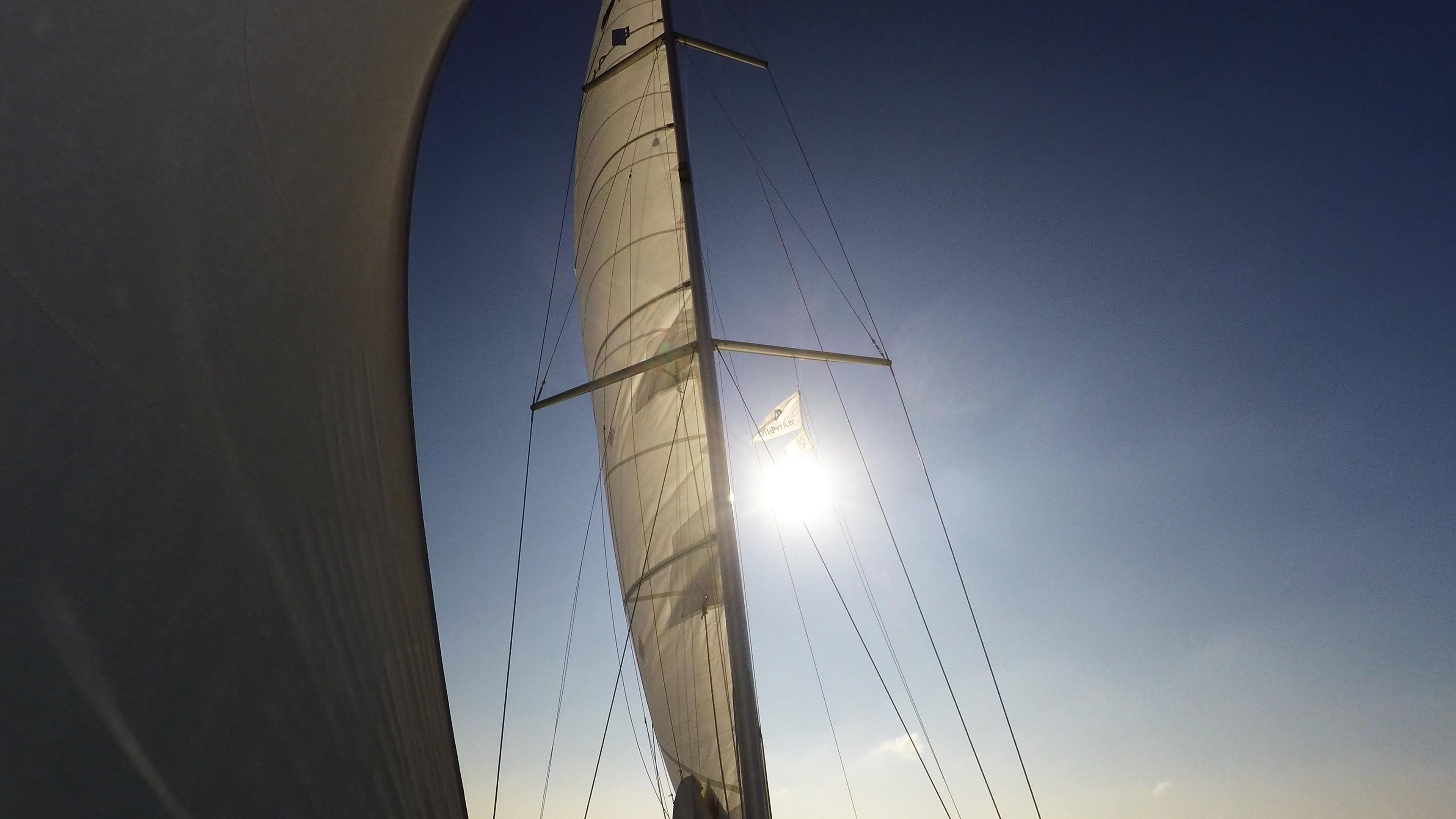 sailing yacht sails mast sailing yacht