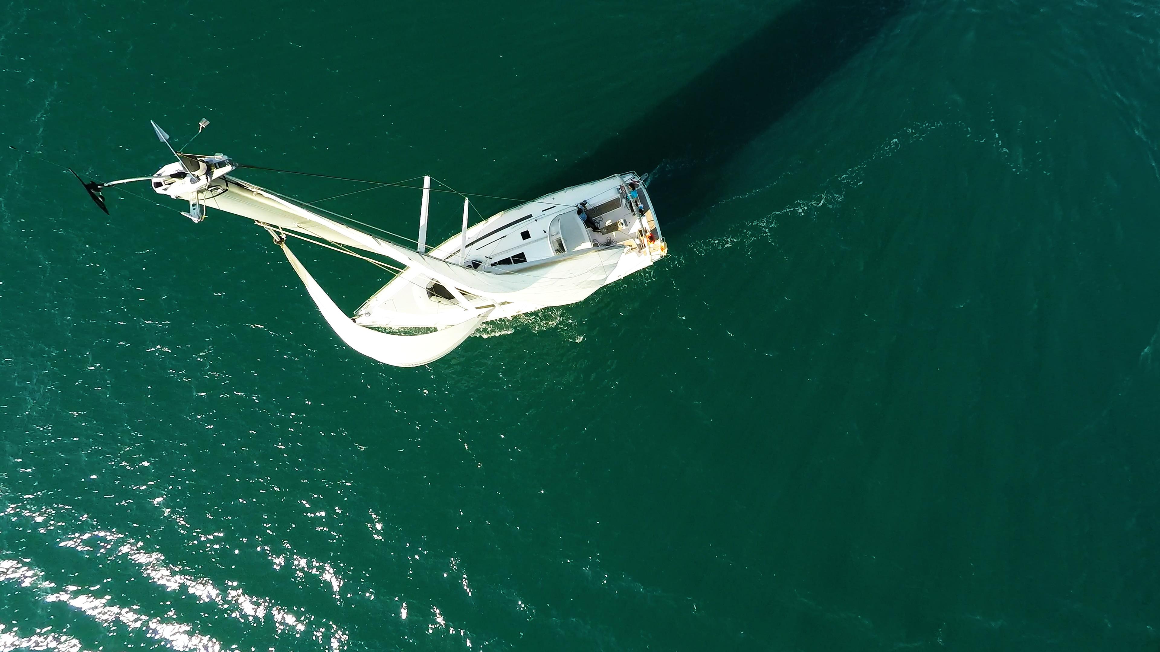 sailing yacht top mast sail boat deck cockpit sailing yacht