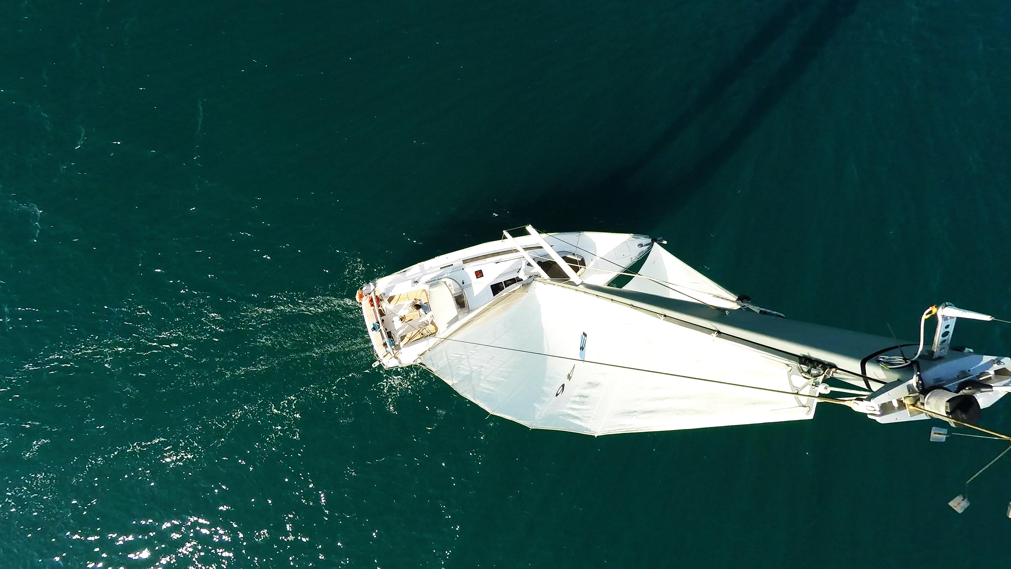 sailing yacht top mast sails sailing yacht bavaria 46