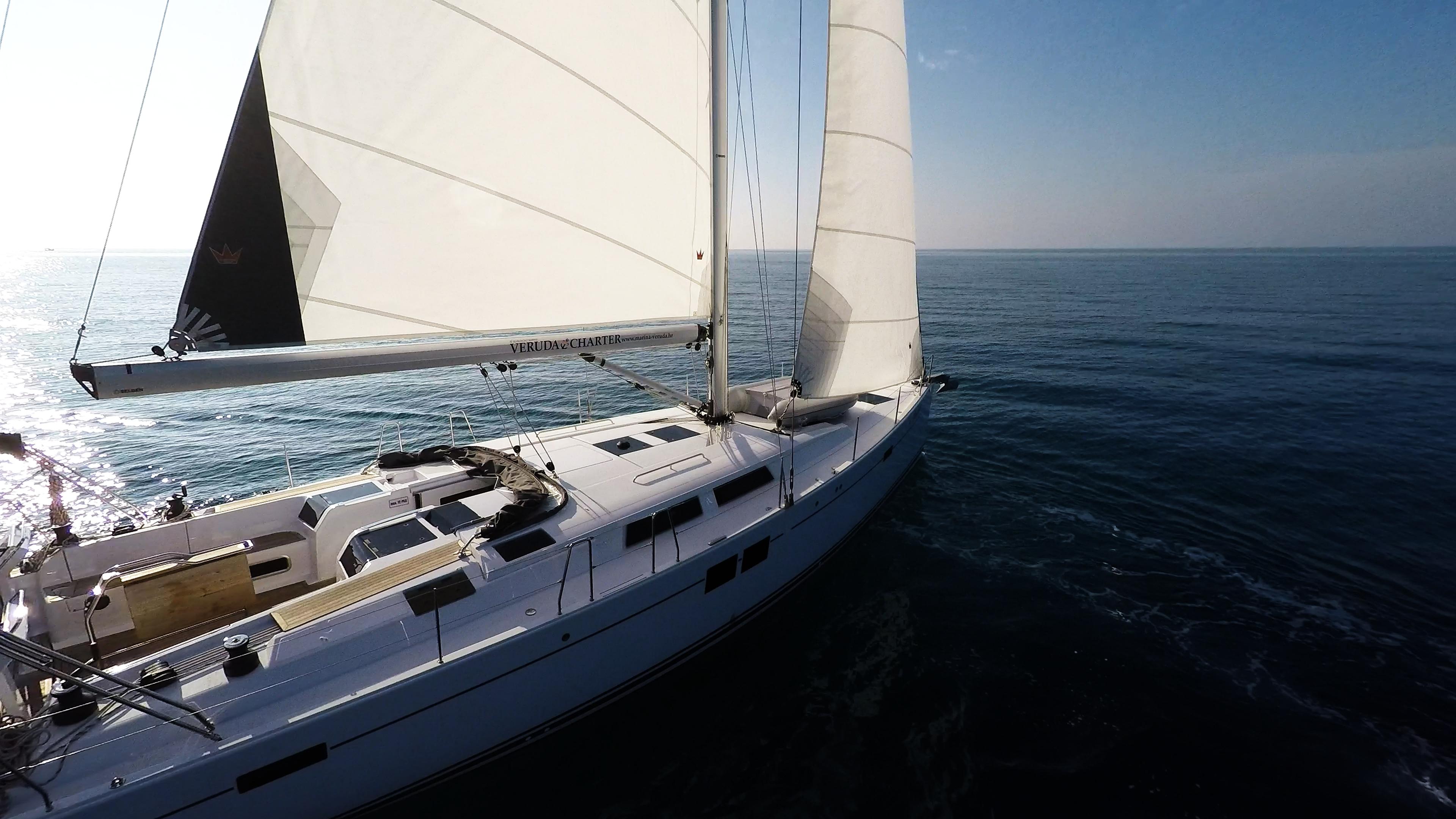 sailing yacht sea sails sun sailboat sailing yacht bow